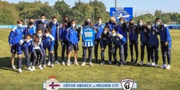 Iris Arnaiz cumpre 100 partidos en competición estatal como deportivista / RCD