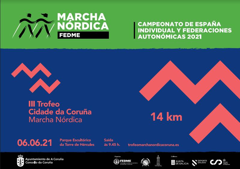 A Coruña a proba nacional máis importante de marcha nórdica / CONCELLO DA CORUÑA