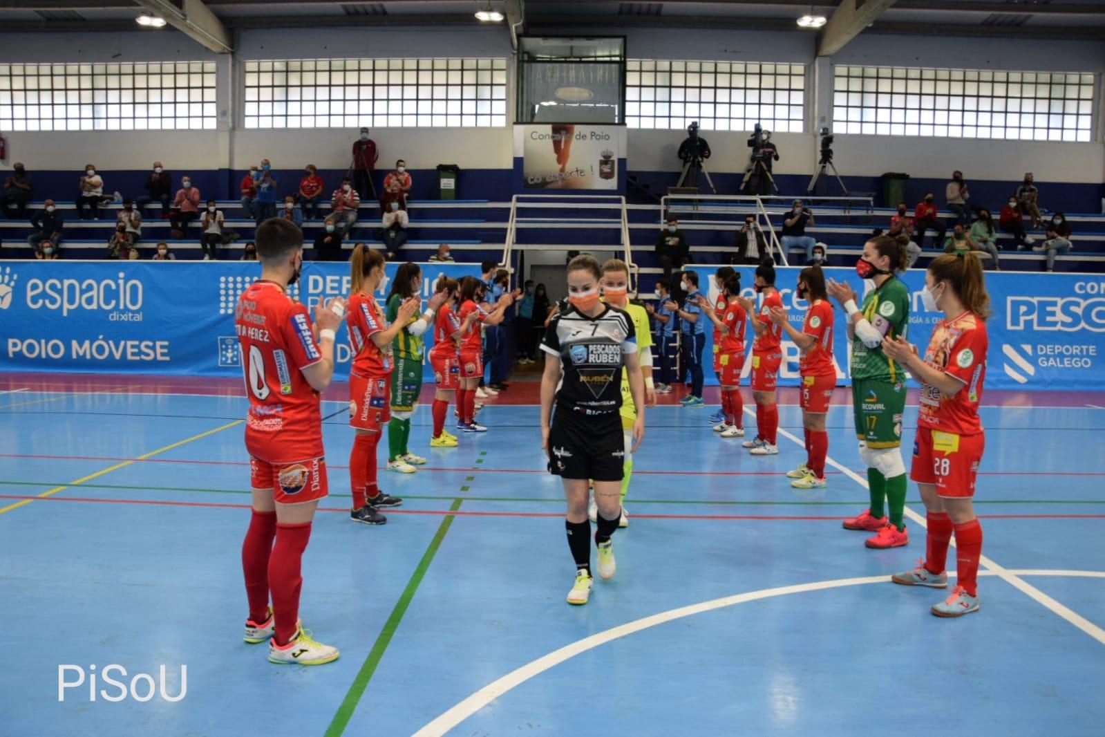 O Poio fai o corredoiro ao Burela, campión de Copa / PRBFS