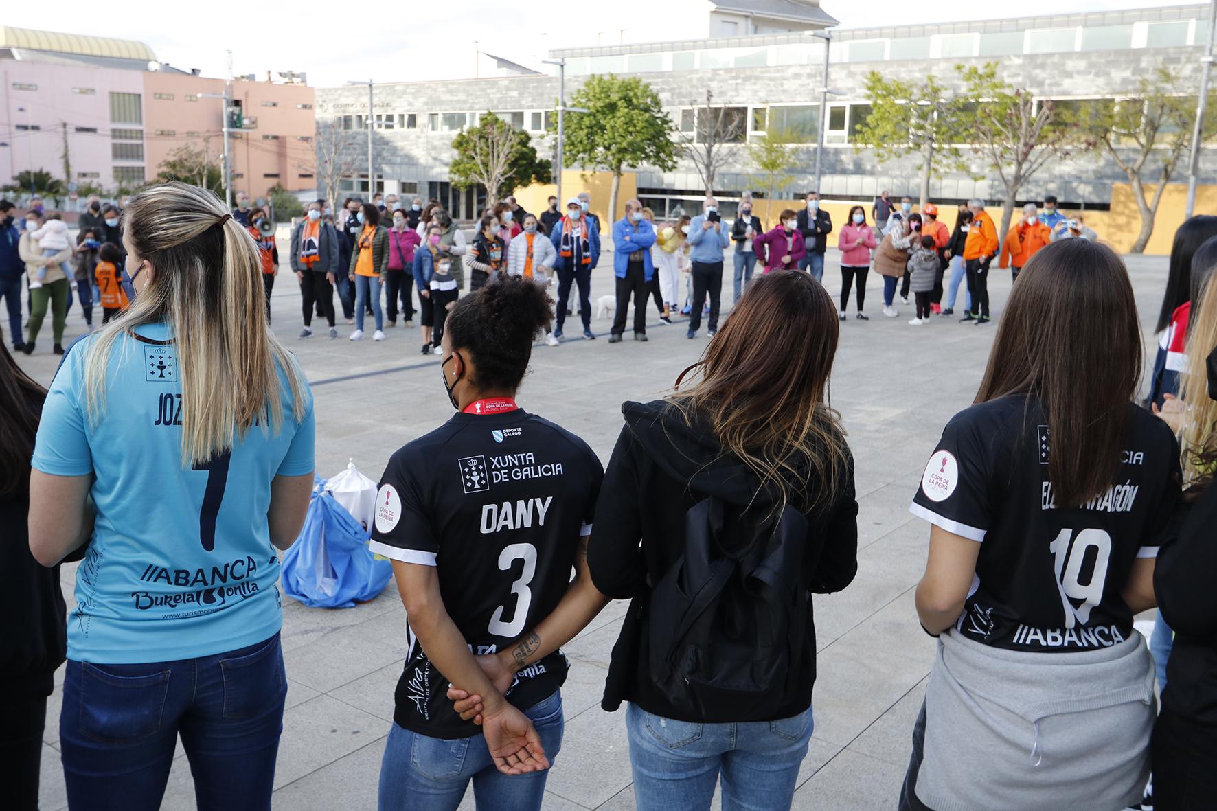 O Concello recibe ao Burela FS tras vencer na Copa da Raíña / PRBFS