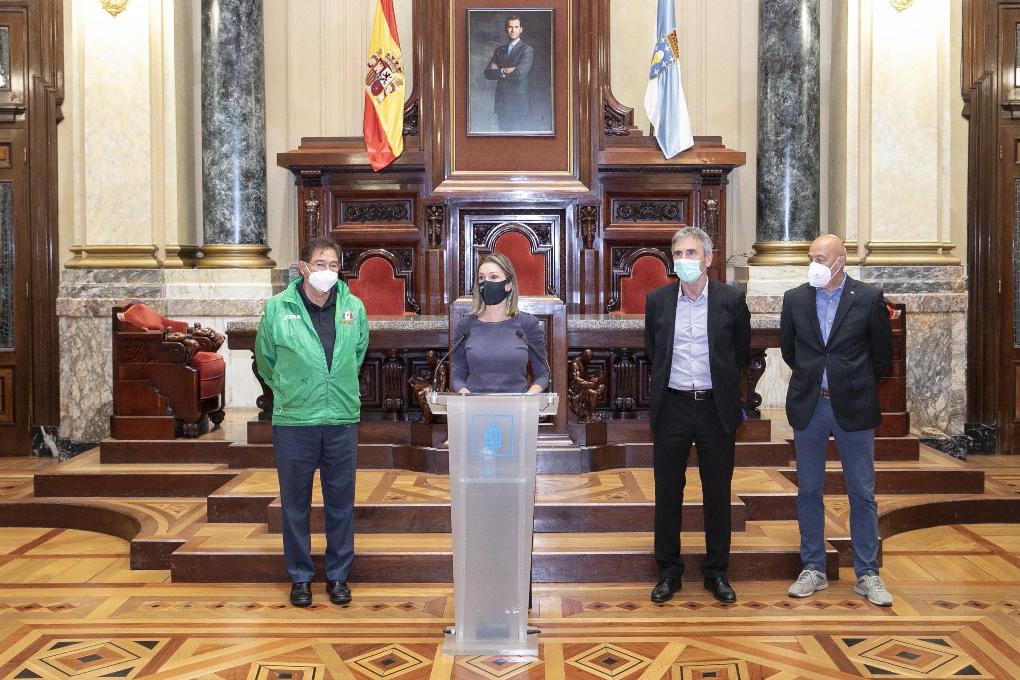 A Coruña da a benvida ás marchadoras do GP Cantóns / CONCELLO DA CORUÑA