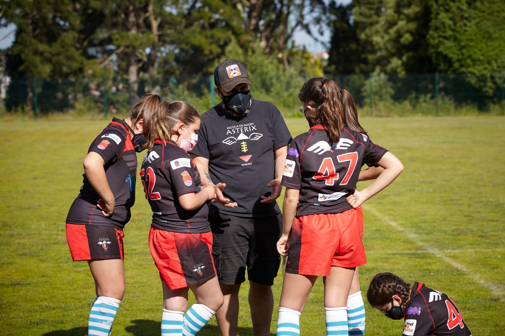 A Escola Rugby Asterix Viveiro / CEDIDA
