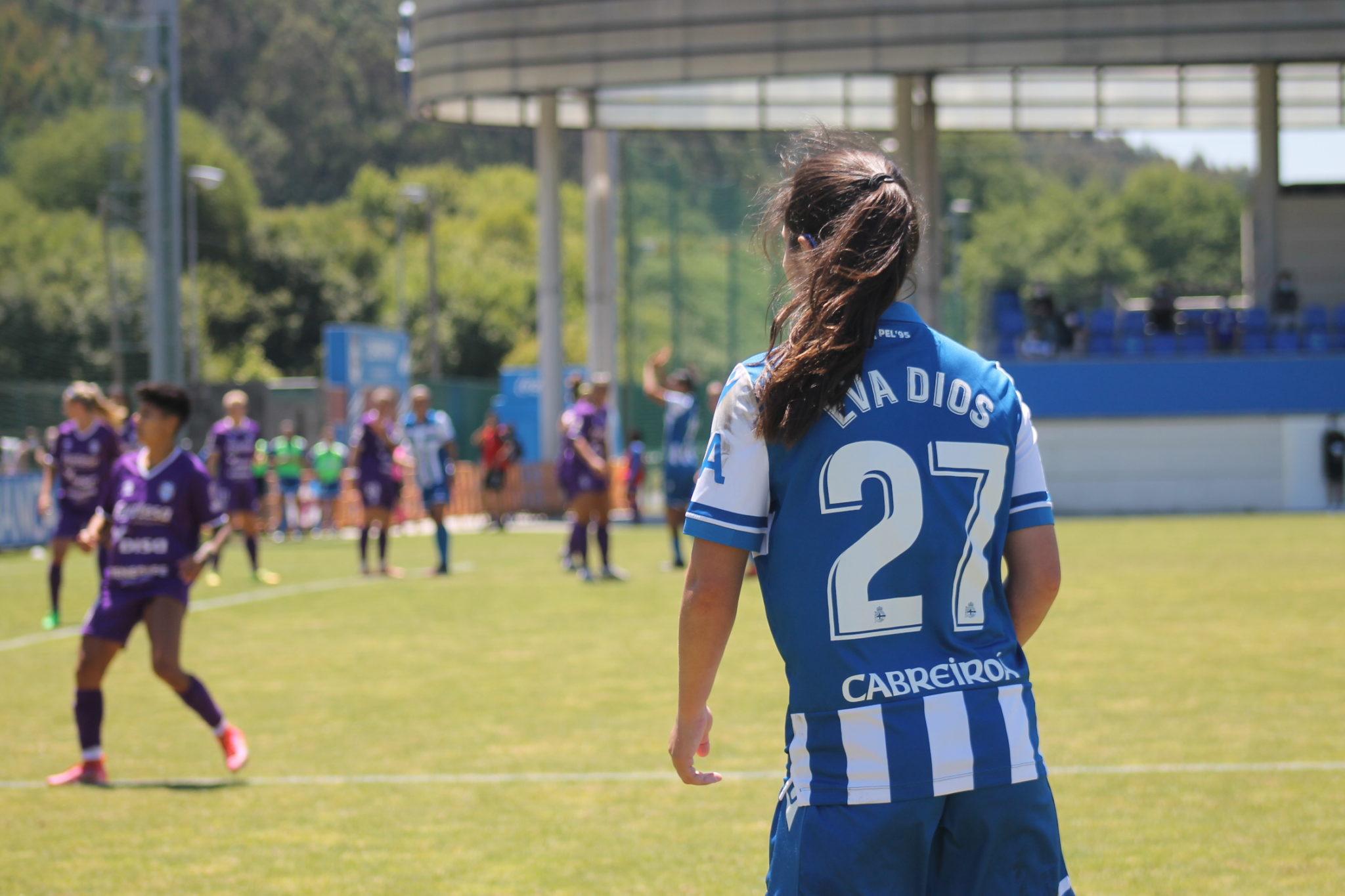 Eva Dios, xogadora do Dépor ABANCA, ante o Granadilla Tenerife / CARMEN G. MARIÑAS