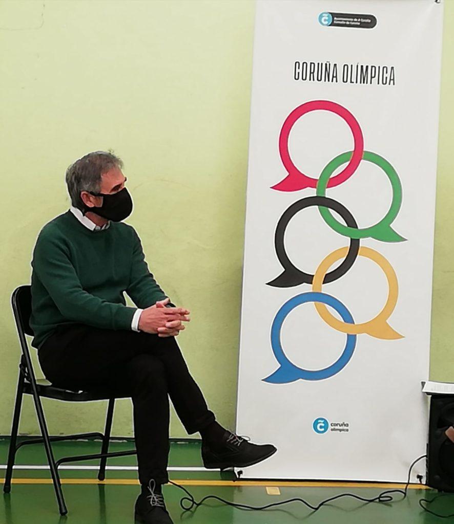 Isidoro Hornillos, ciclo Coruña Olímpica / CONCELLO DA CORUÑA