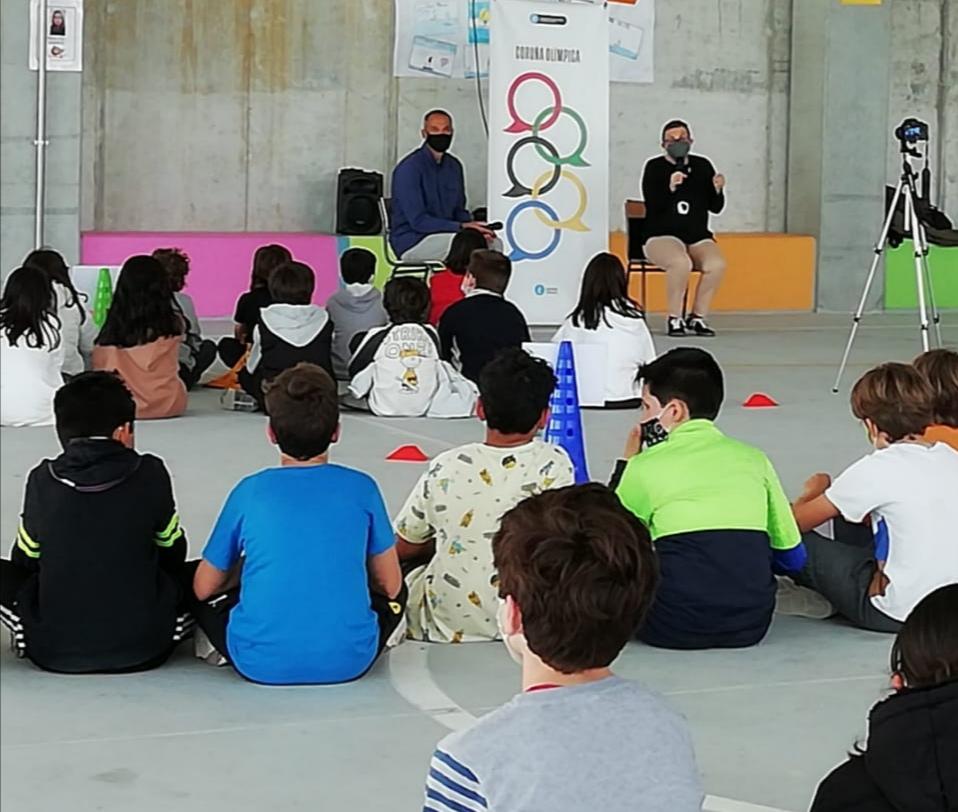 Jorge Maciel, ciclo Coruña Olímpica / CONCELLO DA CORUÑA