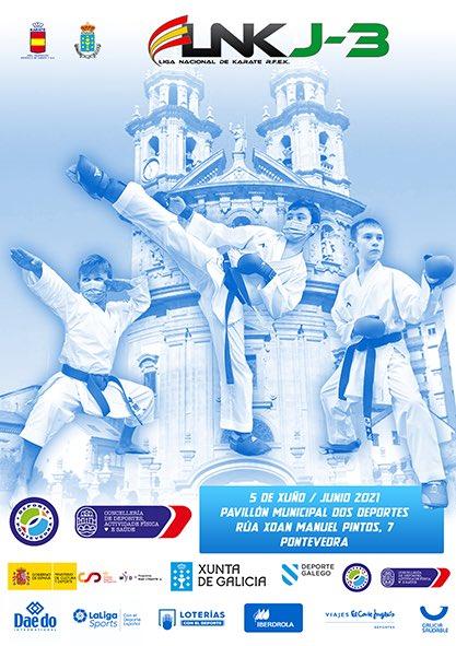 Pontevedra acollea Liga Nacional de Karate J3 feminina e masculina / RFEK