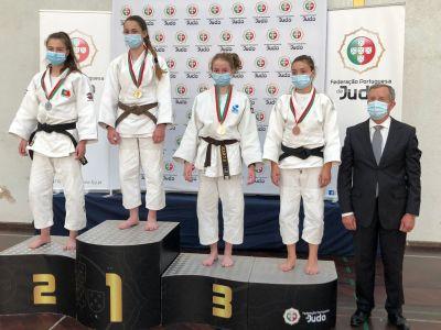 Malena Castro, ouro nos 48 kg da Cadet International Cup de Coimbra / FG JUDO