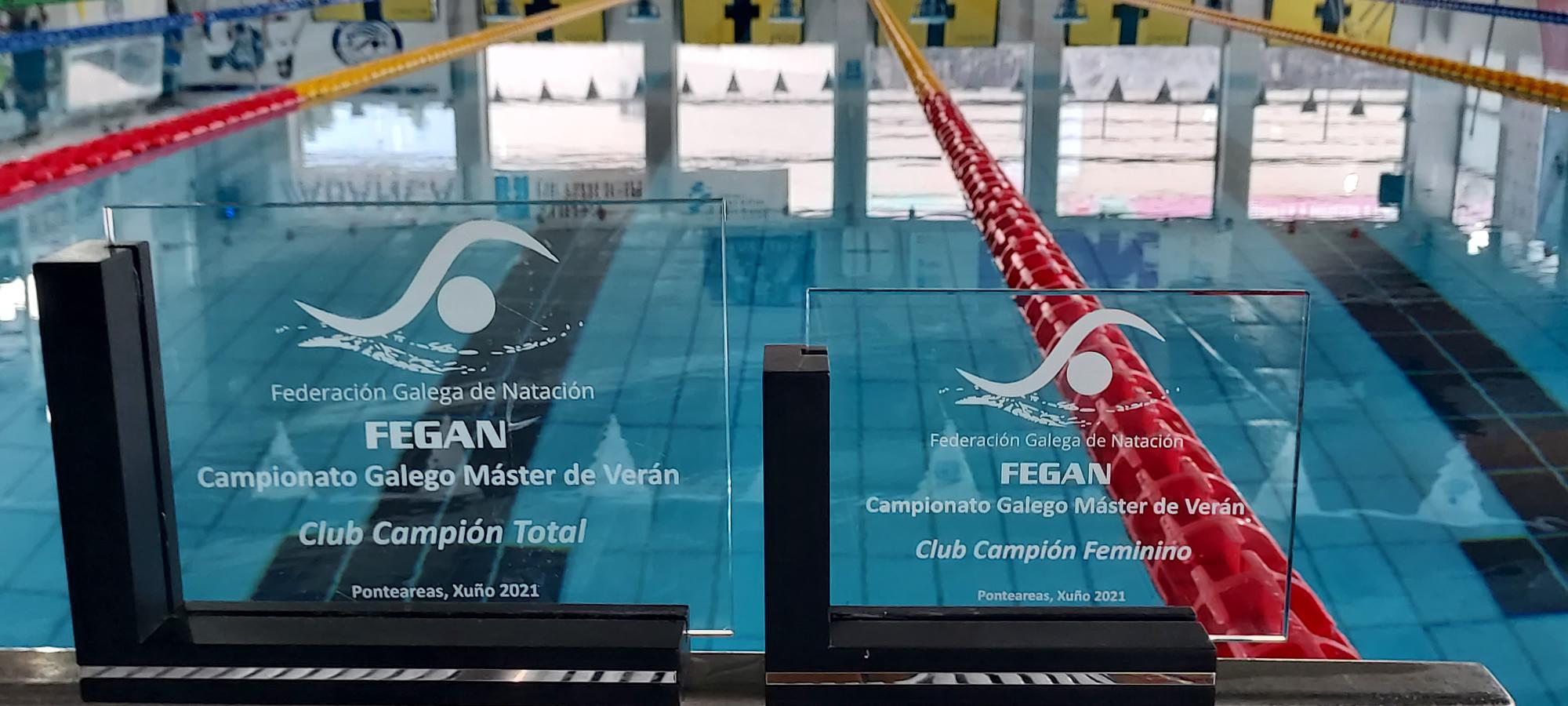 O CN Ponteareas remata campión no Campionato Galego Máster de Natación / CN PONTEAREAS