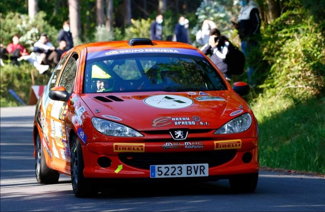O coche de Ruth Ortega do Melmac Rally Factory non puido finalizar o 25 Rallye A Coruña / CEDIDA