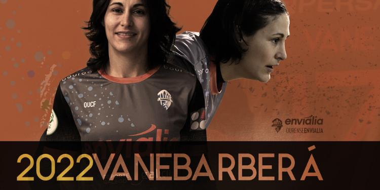 Vane Barberá seguirá defendendo a portería do Envialia / OURENSE ENVIALIA