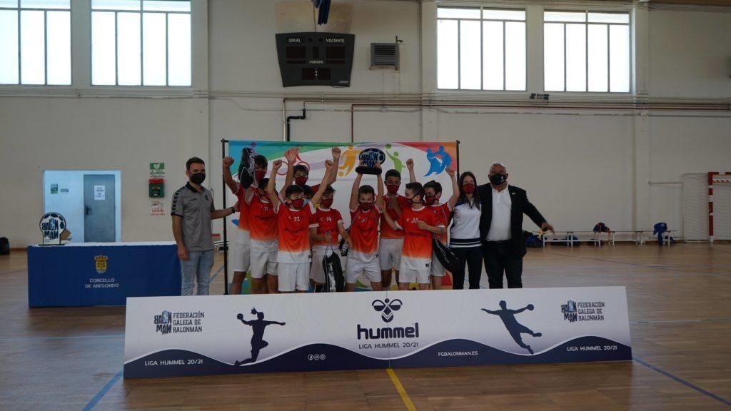Abegondo Todo Deporte, subcampión galego alevín mixto 7 / CONCELLO ABEGONDO