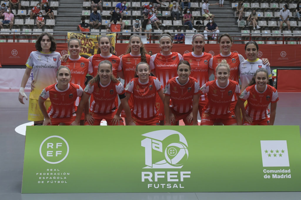 Fútsi Atlético Navalcarnero na final de liga 2020-21 / RFEF