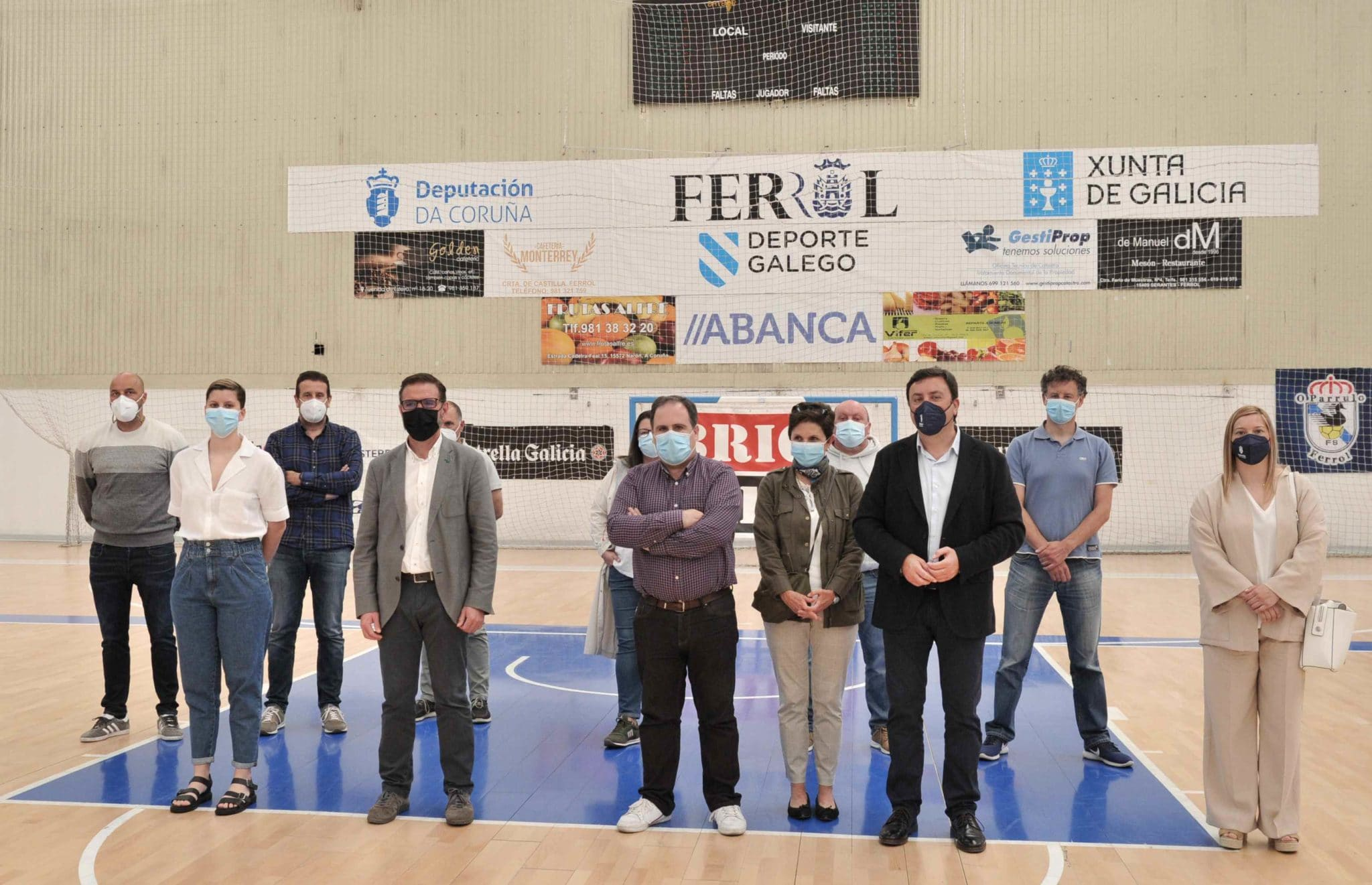A Deputación felicita ao BAXI Ferrol polo seu regreso á LF Endesa / DEPUTACIÓN DA CORUÑA