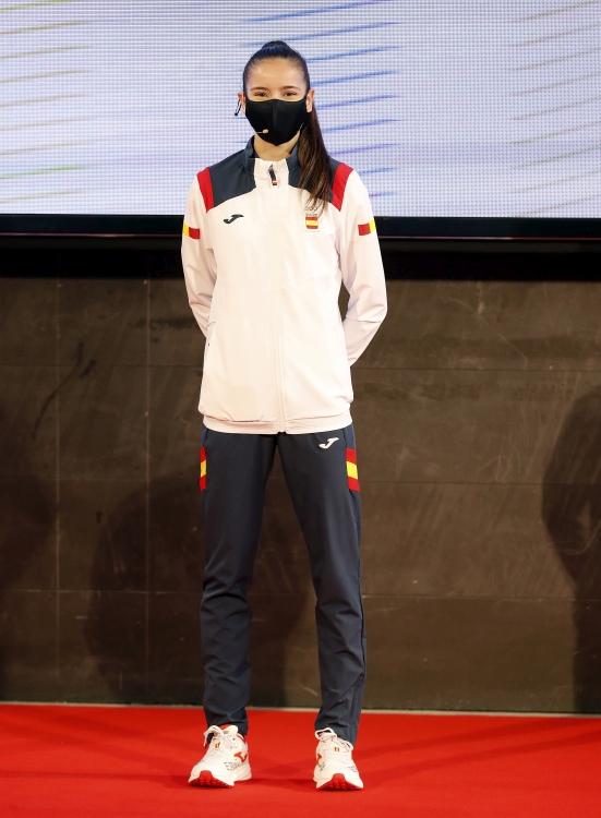 Equipación exclusiva da delegación española para os Xogos Olímpicos de Toquio/ COE