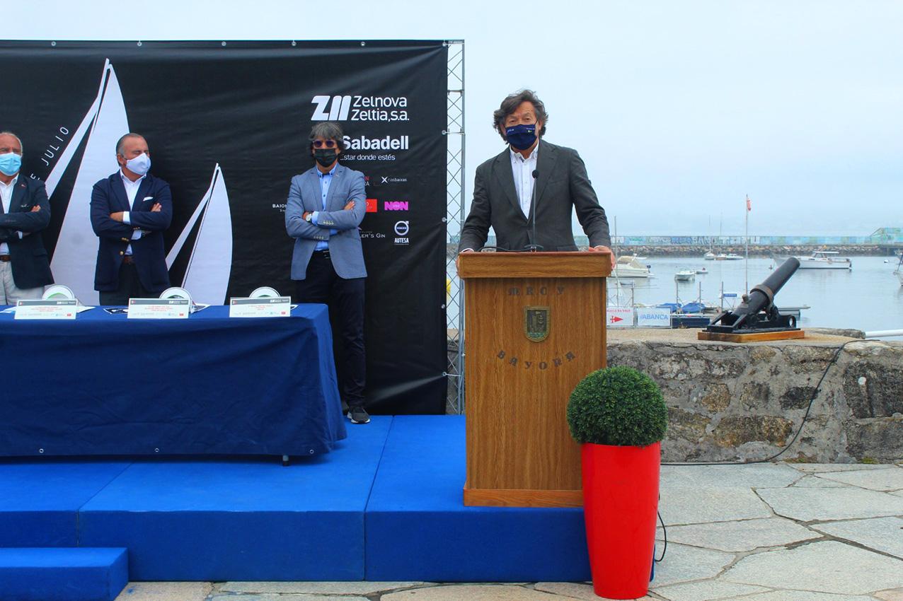 Lete Lasa, Na presentación do Trofeo Conde de Gondomar Gran Premio Zelnova Zeltia Banco Sabadell / XUNTA