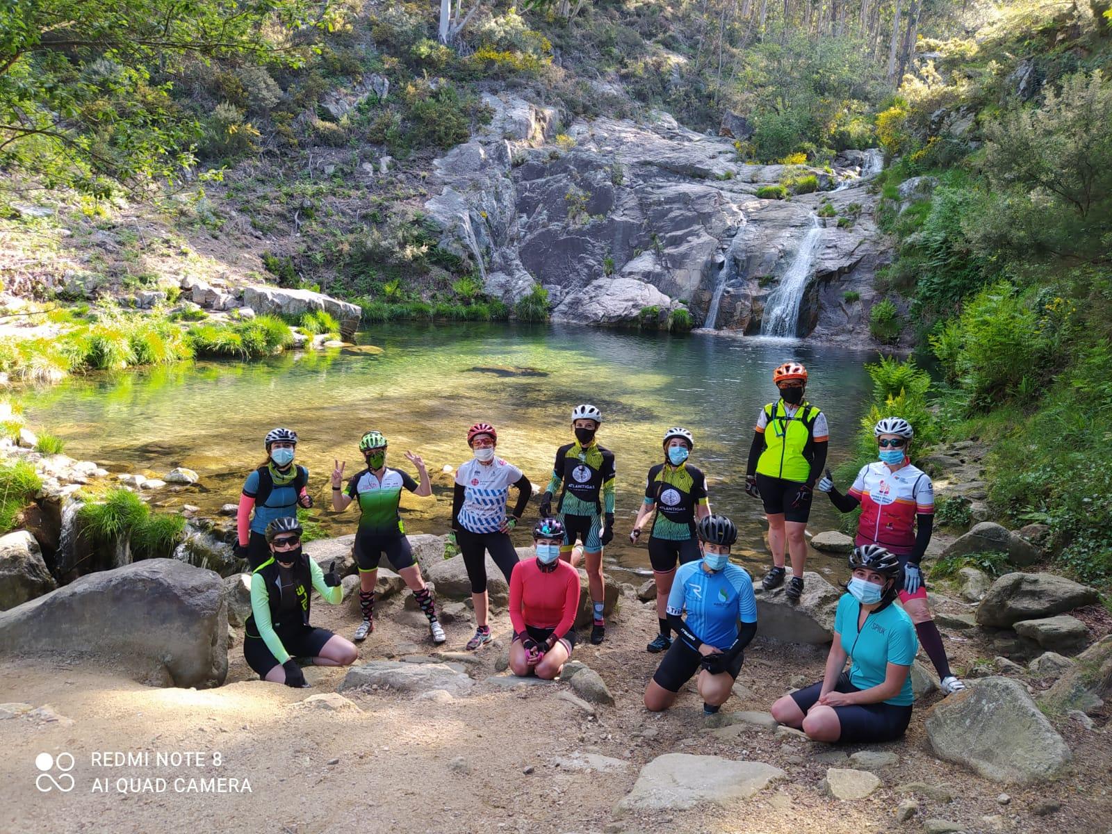 As ciclistas de Atlántigas / CEDIDA
