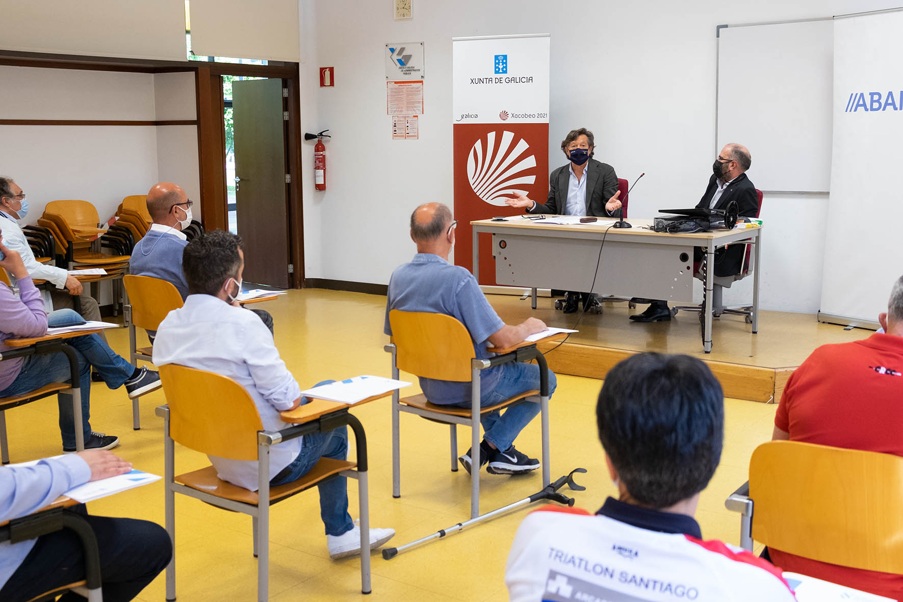 Plan de Patrocinio Publicitario dos Equipos de Alta Competición de Galicia da Fundación Deporte Galego, equipos de Santiago / XUNTA DE GALICIA