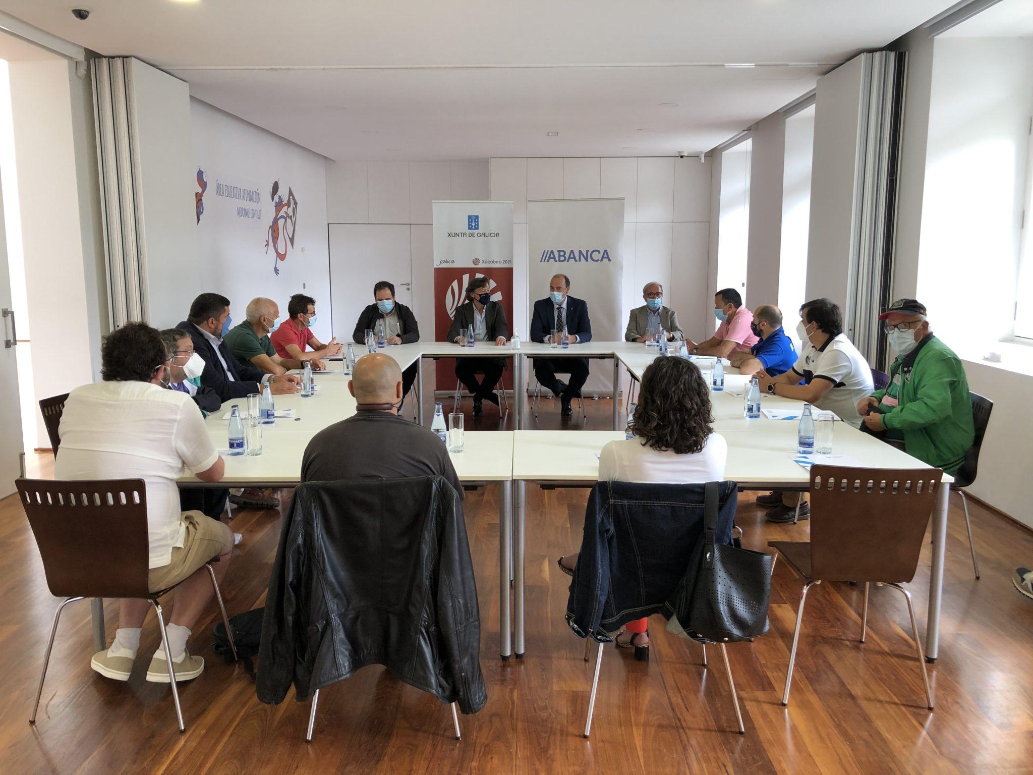 Plan de Patrocinio Publicitario dos Equipos de Alta Competición de Galicia da Fundación Deporte Galego, equipos de Ferrol / XUNTA DE GALICIA