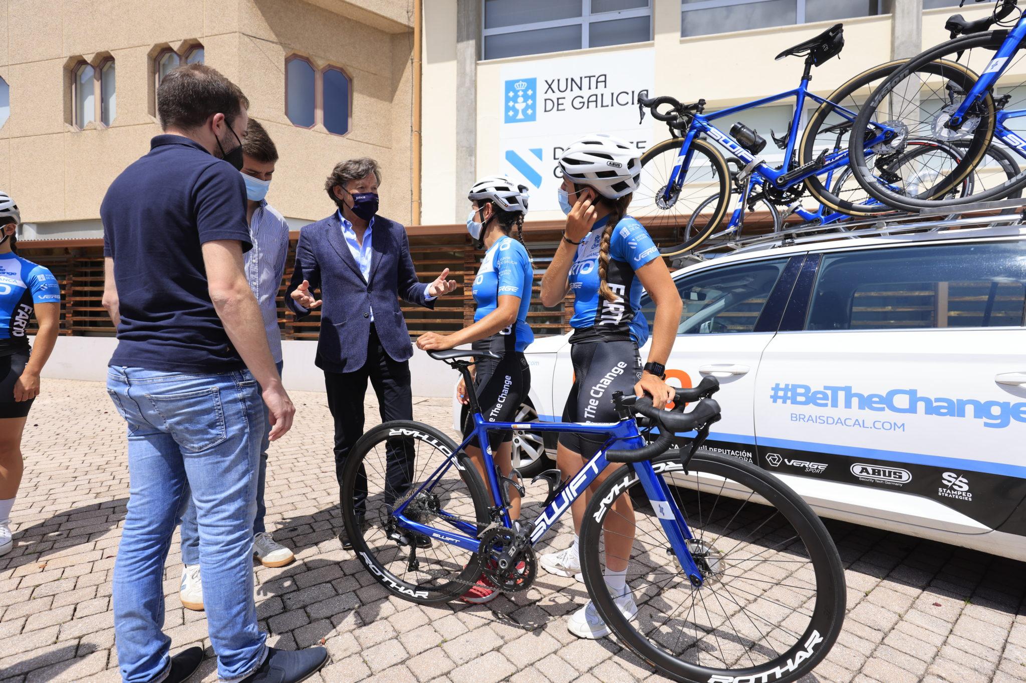 O Team Farto BTC, primeiro equipo ciclista galego feminino profesional / XUNTA