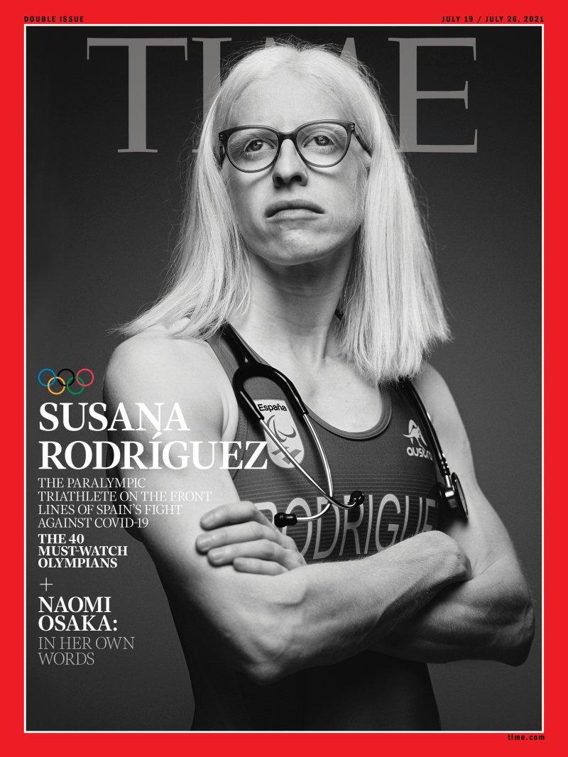 Susana Rodríguez Gacio chega á portada de Time / TIME