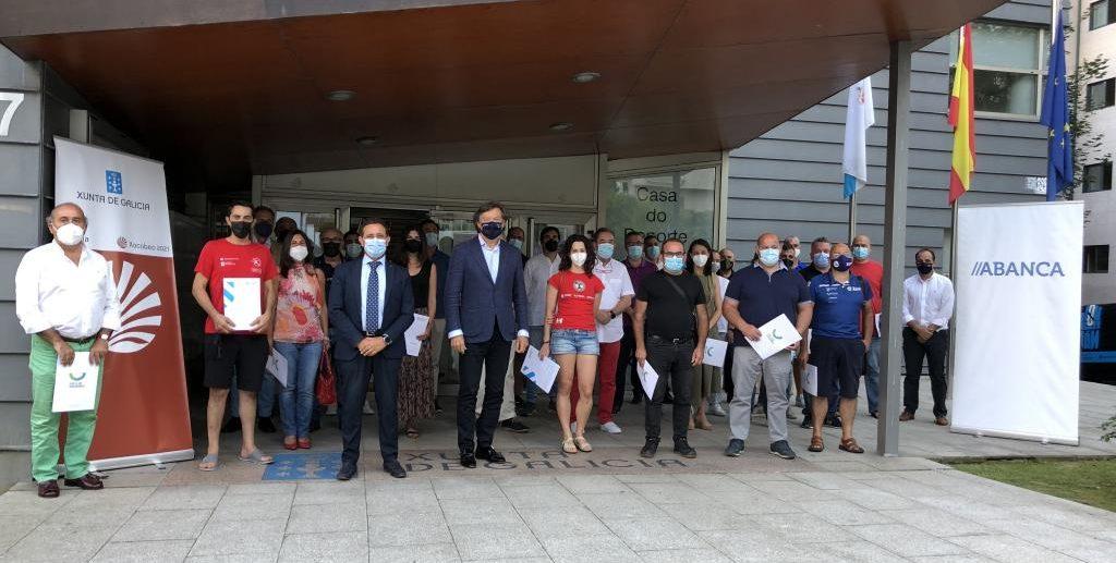 Equipos da área de Vigo participantes no Plan de Patrocinio Publicitario dos Equipos de Alta Competición de Galicia da Fundación Deporte Galego / XUNTA