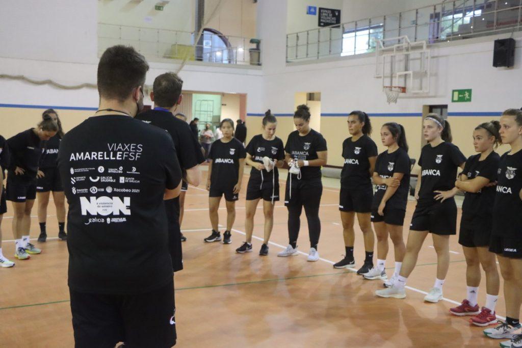 Adestramentos pretempada 2021-22 / VIAXES AMARELLE FSF