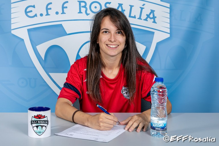 María Suárez, 2ª adestradora equipo infantil / EFF ROSALÍA