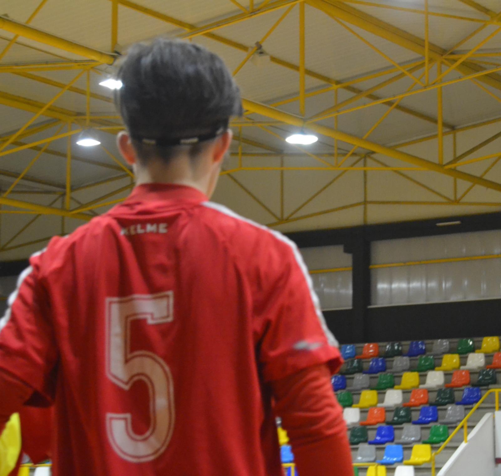 Rocío Tasende, futbolista do 5 Coruña Futbol Sala / 5 CORUÑA FS