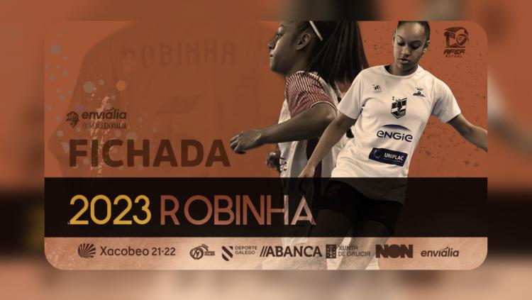 A brasileira Robinha, ficha polo club ourensá / OURENSE ENVIALIA