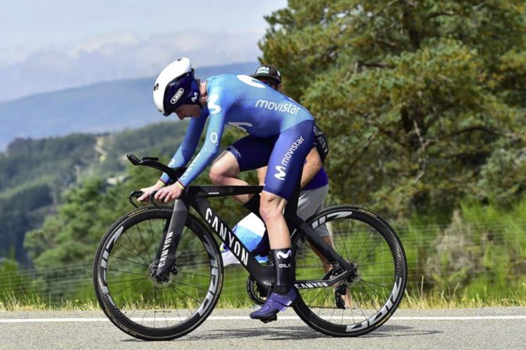 A ciclista Annemiek Van Vleuten (Movistar Team) gaña a 2ª etapa da CERATIZIT Challenge by La Vuelta 21 - PHOTOGOMEZ SPORT