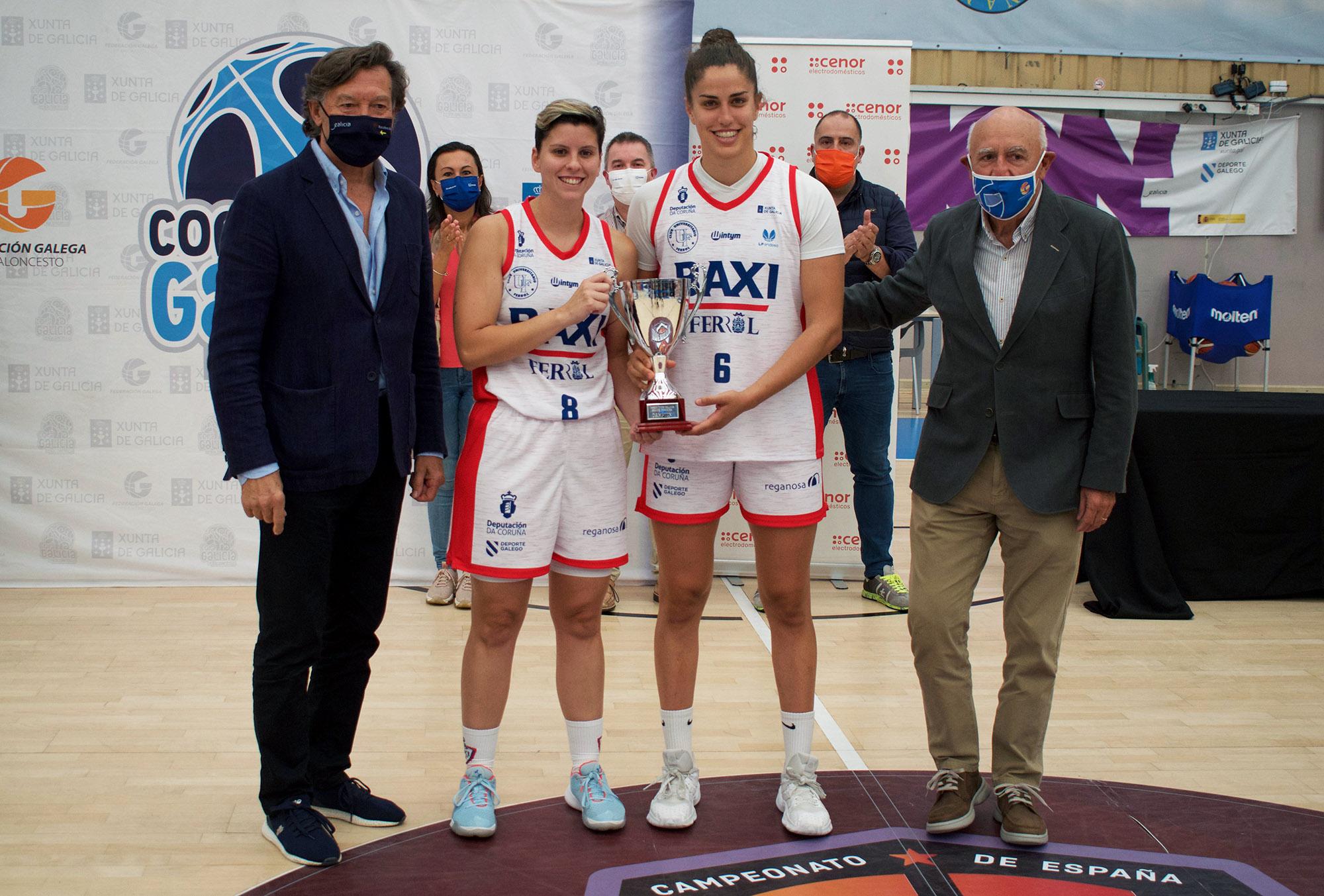 As capitás do BAXI recollen a Copa Galicia / UNIFERROL
