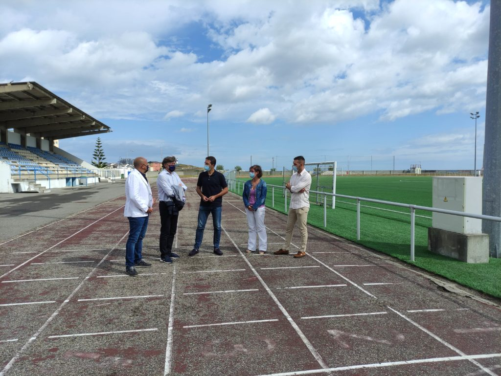 A Xunta e o Concello de Cervo impulsan a primeira pista de atletismo homologada da Mariña / XUNTA DE GALICIA
