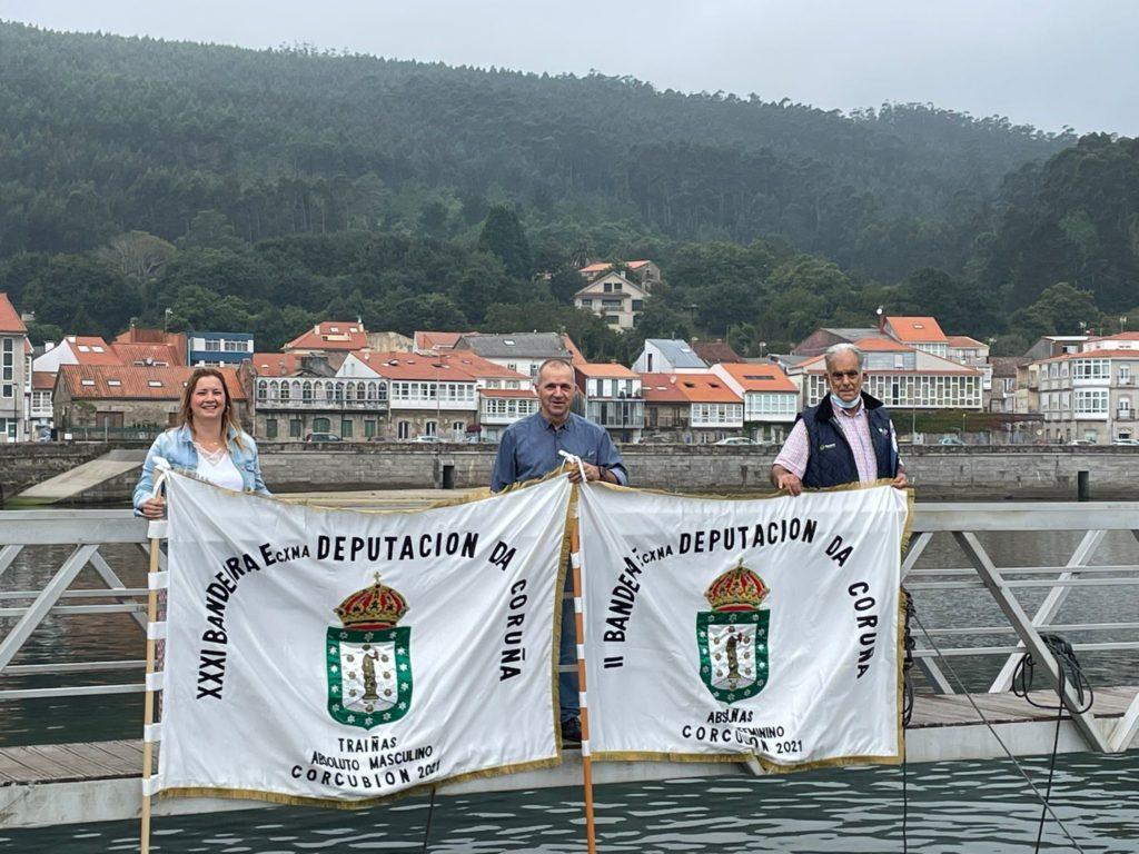 Corcubión acolle o domingo a Bandeira de Traíñas Deputación da Coruña / DEPUTACIÓN DA CORUÑA
