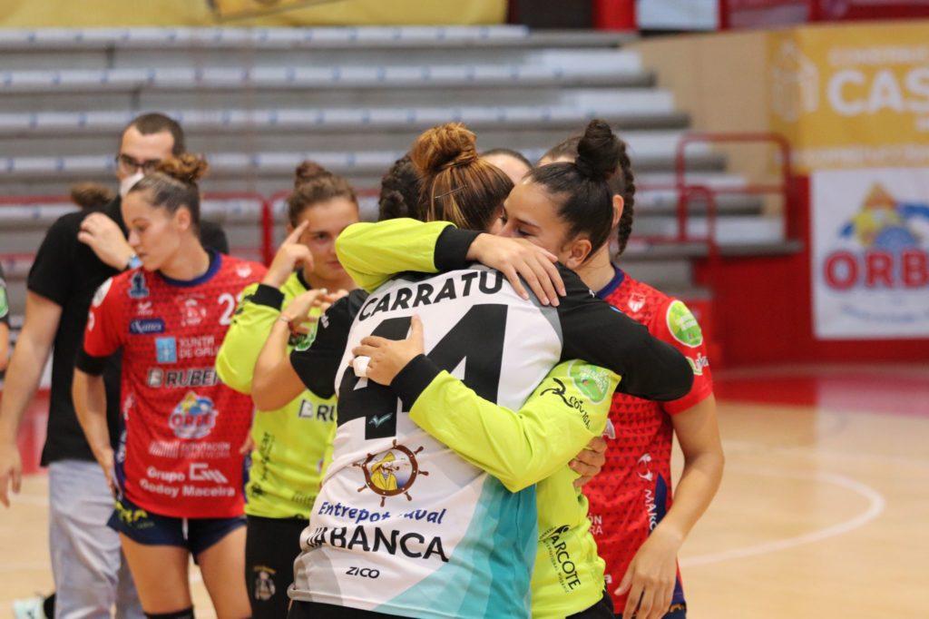 Derbi do balonmán feminino galego entre o Atlético Guardés e o BM Porriño / ATLÉTICO GUARDÉS