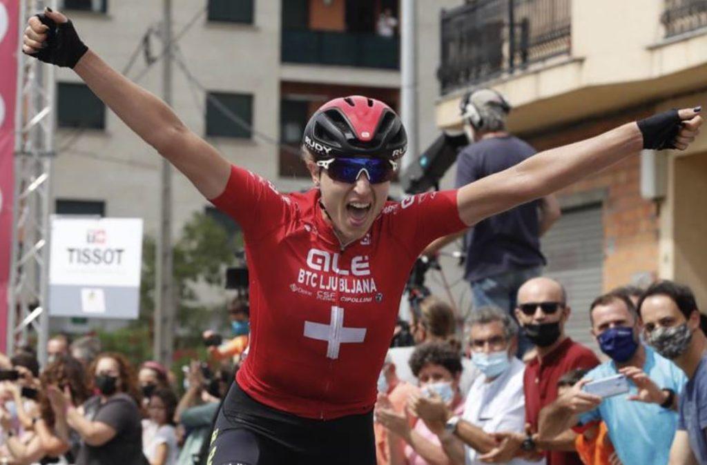 Marlen Reusser vence a primeira etapa da CERATIZIT Challenge by La Vuelta 21