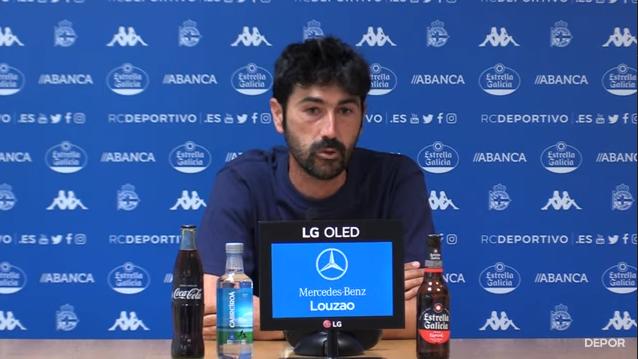 Miguel Llorente, adestrador do Dépor ABANCA / RCD