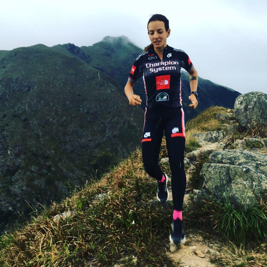 A brasileira Camila Nicolau é a captiá do equipo BOA Brazil Multisport / RAID GALLAECIA